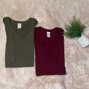 BUNDLE OF TWO PINK TOPS